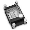 A product image of EK Supremacy Classic RGB AMD Nickel/Plexi CPU Waterblock