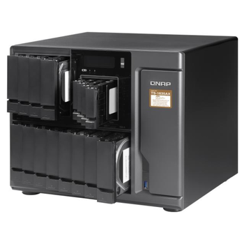 Product image of QNAP TS-1635AX-8G 1.6GHz 8GB 12 BAY NAS Enclosure - Click for product page of QNAP TS-1635AX-8G 1.6GHz 8GB 12 BAY NAS Enclosure
