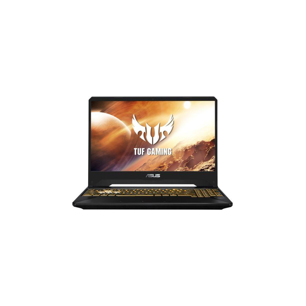 "A large main feature product image of ASUS TUF FX505DU 15.6"" Ryzen 7 GTX1660Ti Windows 10 Gaming Notebook"
