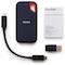 A small tile product image of SanDisk Extreme Portable 250GB SSD USB3.1 and Type-C