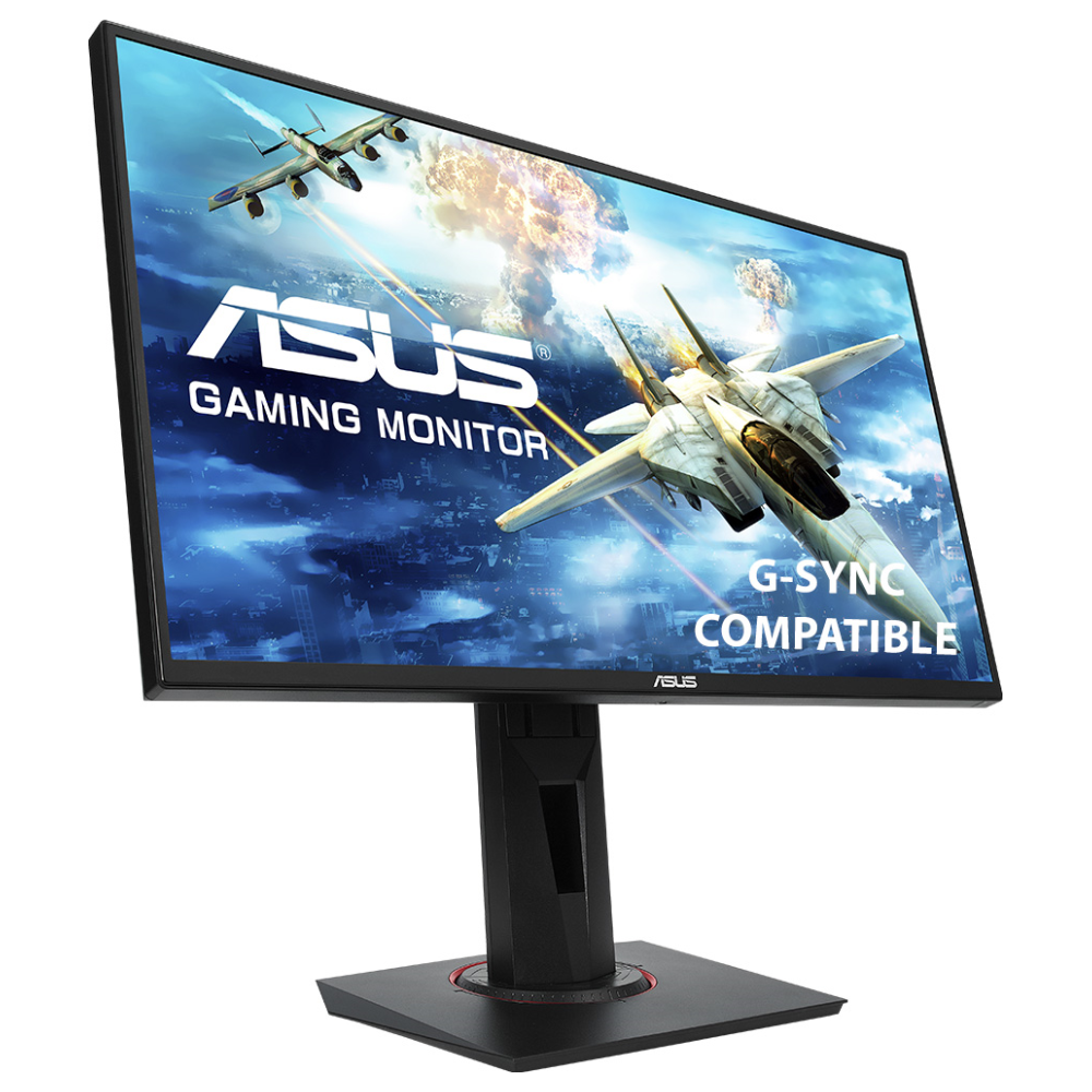 "A large main feature product image of ASUS VG258Q 24.5"" Full HD G-SYNC-C 144Hz 1MS LED Gaming Monitor"