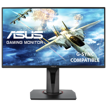 "Product image of ASUS VG258QR 24.5"" Full HD G-SYNC-C 165Hz 0.5MS LED Gaming Monitor - Click for product page of ASUS VG258QR 24.5"" Full HD G-SYNC-C 165Hz 0.5MS LED Gaming Monitor"