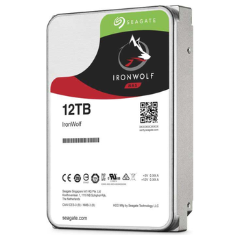 "Product image of Seagate IronWolf ST12000VN0008 3.5"" 12TB NAS HDD - Click for product page of Seagate IronWolf ST12000VN0008 3.5"" 12TB NAS HDD"