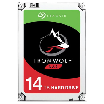 "Product image of Seagate IronWolf ST14000VN0008 3.5"" 14TB NAS HDD - Click for product page of Seagate IronWolf ST14000VN0008 3.5"" 14TB NAS HDD"