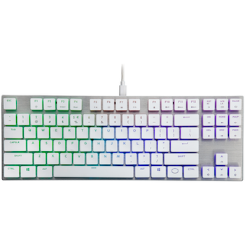 Product image of Cooler Master MasterKeys SK630 RGB White Mechanical Keyboard (MX Red Switch) - Click for product page of Cooler Master MasterKeys SK630 RGB White Mechanical Keyboard (MX Red Switch)