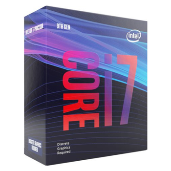 Product image of Intel Core i7 9700F 3.0GHz Coffee Lake R 8 Core 8 Thread LGA1151-CL - No iGPU Retail Box - Click for product page of Intel Core i7 9700F 3.0GHz Coffee Lake R 8 Core 8 Thread LGA1151-CL - No iGPU Retail Box