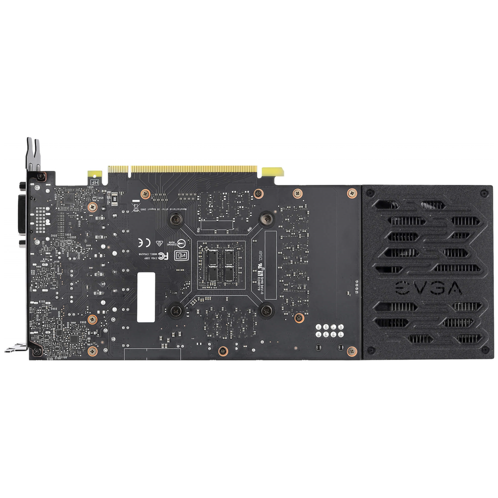 A large main feature product image of eVGA GeForce RTX2060 SC Ultra 6GB GDDR6