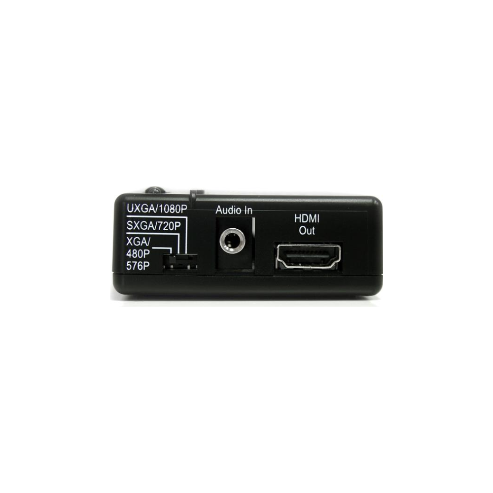 A large main feature product image of Startech Composite and S-Video to HDMI® Converter with Audio
