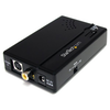 A product image of Startech Composite and S-Video to HDMI® Converter with Audio