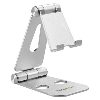 Product image of Startech Smartphone and Tablet Stand - Portable - Foldable - Aluminum - Click for product page of Startech Smartphone and Tablet Stand - Portable - Foldable - Aluminum