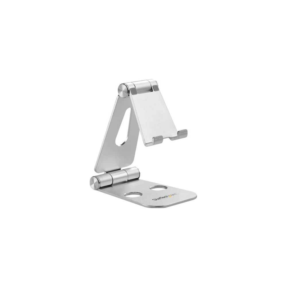 A large main feature product image of Startech Smartphone and Tablet Stand - Portable - Foldable - Aluminum