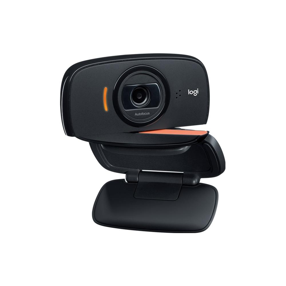 A large main feature product image of Logitech C525 HD Webcam