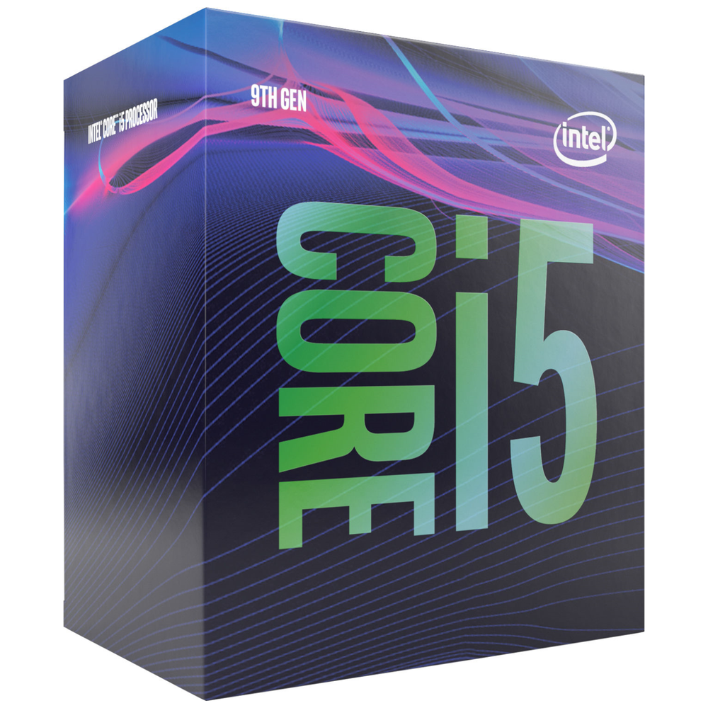 A large main feature product image of Intel Core i5 9400 2.9Ghz Coffee Lake R 6 Core 6 Thread LGA1151-CL - Retail Box