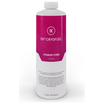 Product image of EK CryoFuel Power Pink 1L Premix Coolant - Click for product page of EK CryoFuel Power Pink 1L Premix Coolant