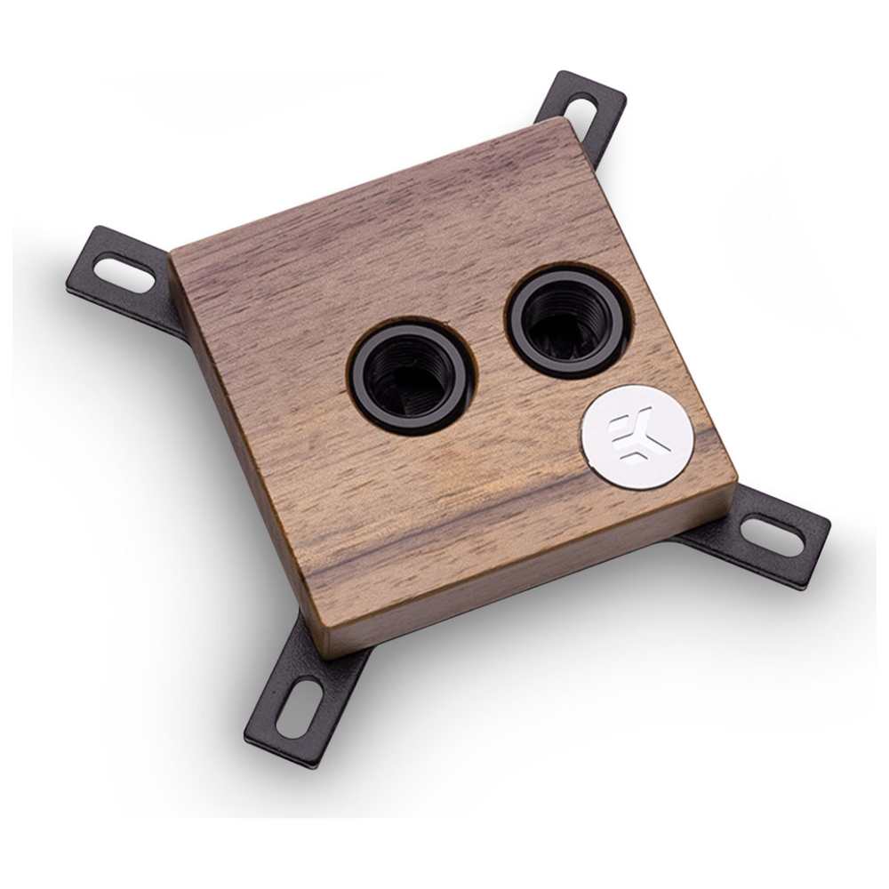A large main feature product image of EK CPU Lignum - Walnut