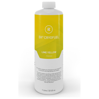 Product image of EK CryoFuel Lime Yellow 1L Premix Coolant - Click for product page of EK CryoFuel Lime Yellow 1L Premix Coolant