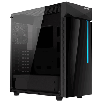 Product image of Gigabyte C200 Glass ATX Mid Tower Case - Click for product page of Gigabyte C200 Glass ATX Mid Tower Case