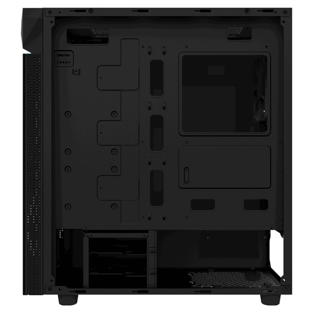 A large main feature product image of Gigabyte C200 Glass ATX Mid Tower Case