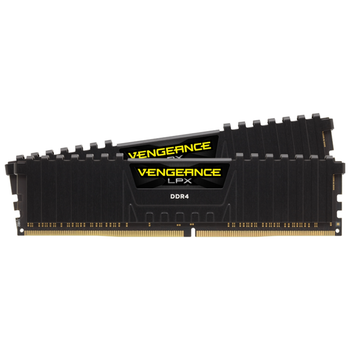 Product image of Corsair 16GB Kit (2x8GB) DDR4 Vengeance LPX Black C13 2133Mhz - Click for product page of Corsair 16GB Kit (2x8GB) DDR4 Vengeance LPX Black C13 2133Mhz