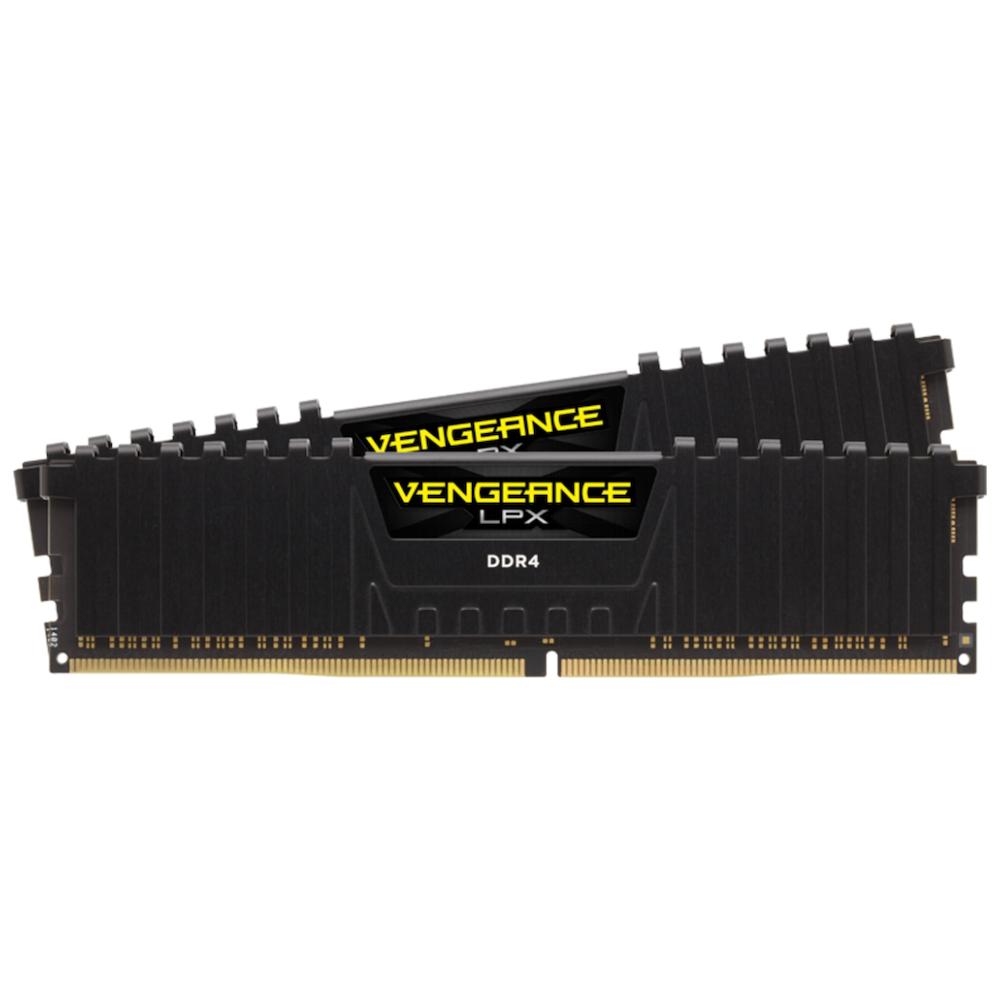 A large main feature product image of Corsair 16GB Kit (2x8GB) DDR4 Vengeance LPX Black C13 2133Mhz