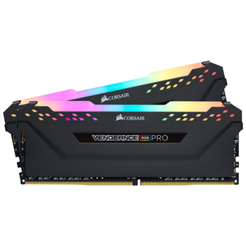 Product image of Corsair 16GB Kit (2x8GB) DDR4 Vengeance RGB PRO C16 3200Mhz - Click for product page of Corsair 16GB Kit (2x8GB) DDR4 Vengeance RGB PRO C16 3200Mhz