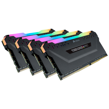 Product image of Corsair 32GB Kit (4x8GB) DDR4 Vengeance RGB PRO C16 3200Mhz - Click for product page of Corsair 32GB Kit (4x8GB) DDR4 Vengeance RGB PRO C16 3200Mhz