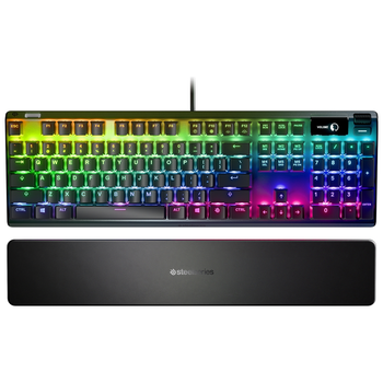 Product image of Steelseries Apex Pro RGB Mechanical Gaming Keyboard (OmniPoint Switch) - Click for product page of Steelseries Apex Pro RGB Mechanical Gaming Keyboard (OmniPoint Switch)