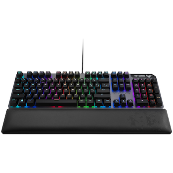 Product image of ASUS TUF Gaming K7 RGB Keyboard (Tactile Switches) - Click for product page of ASUS TUF Gaming K7 RGB Keyboard (Tactile Switches)