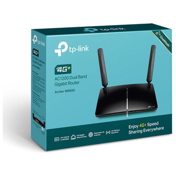 Product image of TP-LINK Archer MR600 Wireless-AC1200 WiFi 5 4G+ Dual Band Gigabit Router - Click for product page of TP-LINK Archer MR600 Wireless-AC1200 WiFi 5 4G+ Dual Band Gigabit Router
