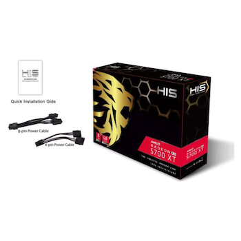 Product image of HIS Radeon RX 5700 XT 8GB GDDR6 - Click for product page of HIS Radeon RX 5700 XT 8GB GDDR6