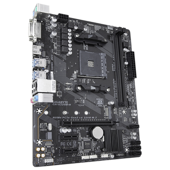 Product image of Gigabyte A320M-H mATX AM4 Desktop Motheboard - Click for product page of Gigabyte A320M-H mATX AM4 Desktop Motheboard