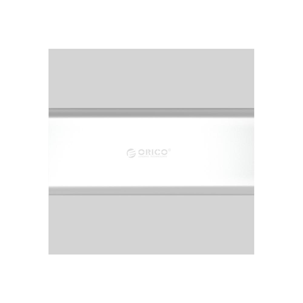 A large main feature product image of ORICO M.2 Micro USB 3.0 SSD Enclosure - Aluminium