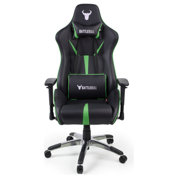 Product image of BattleBull Arrow Gaming Chair Black/Green - Click for product page of BattleBull Arrow Gaming Chair Black/Green