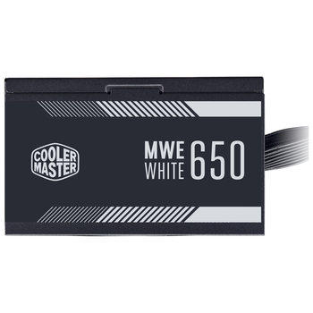Product image of Cooler Master MWE 650W 80PLUS White Power Supply - Click for product page of Cooler Master MWE 650W 80PLUS White Power Supply
