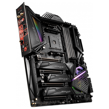 Product image of MSI MEG X570 Godlike AM4 E-ATX Desktop Motherboard - Click for product page of MSI MEG X570 Godlike AM4 E-ATX Desktop Motherboard