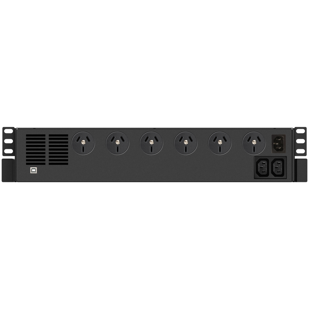 A large main feature product image of Power Shield Defender Rack 800VA UPS