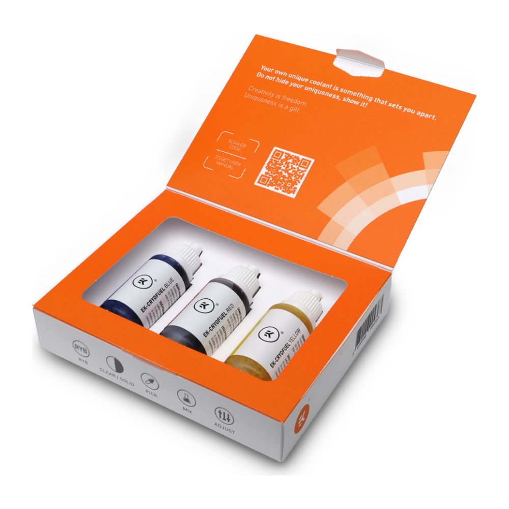 A large main feature product image of EK CryoFuel Dye Pack
