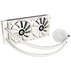 A product image of ID-COOLING FrostFlow X 240 SNOW AIO CPU Liquid Cooler