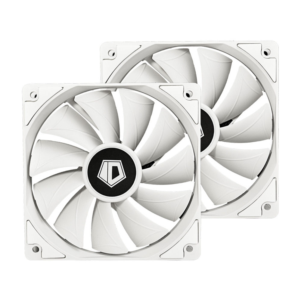 A large main feature product image of ID-COOLING FrostFlow X 240 SNOW AIO CPU Liquid Cooler