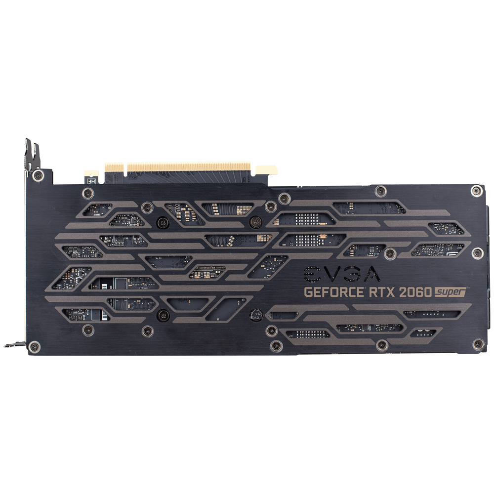 A large main feature product image of eVGA GeForce RTX2060 Super XC 8GB GDDR6