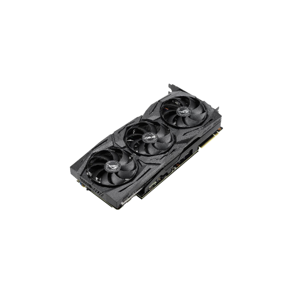 A large main feature product image of ASUS GeForce RTX2060 Super ROG Strix Advanced 8GB GDDR6