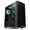 A product image of Thermaltake H100 Mid Tower Case w/ Tempered Glass Side Panel