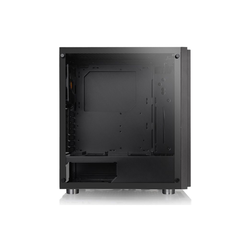 A large main feature product image of Thermaltake H100 Mid Tower Case w/ Tempered Glass Side Panel