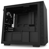 A product image of NZXT H210 Matte Black mITX Case w/ Side Panel Window