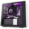 A small tile product image of NZXT H210i Matte White Smart mITX Case w/ Side Panel Window