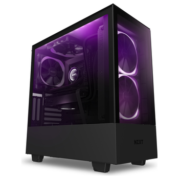 Product image of NZXT H510 Elite Matte Black Premium Mid Tower Case w/ Side Panel Window - Click for product page of NZXT H510 Elite Matte Black Premium Mid Tower Case w/ Side Panel Window