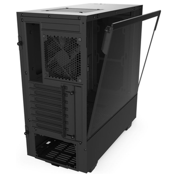 Product image of NZXT H510 Matte Black Mid Tower Case w/Tempered Glass Side Panel - Click for product page of NZXT H510 Matte Black Mid Tower Case w/Tempered Glass Side Panel
