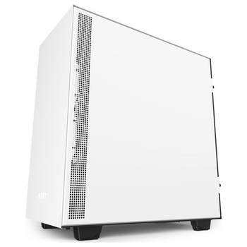 Product image of NZXT H510 Matte White Mid Tower Case w/ Side Panel Window - Click for product page of NZXT H510 Matte White Mid Tower Case w/ Side Panel Window