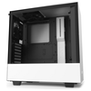 A product image of NZXT H510 Matte White Mid Tower Case w/Tempered Glass Side Panel