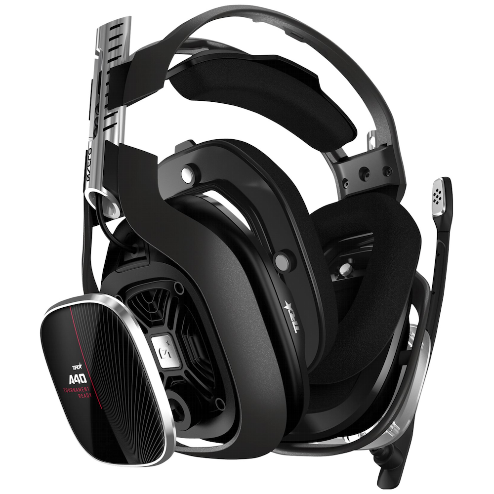 A large main feature product image of Astro Gaming A40 TR Headset + MixAmp Pro TR for Xbox One & PC